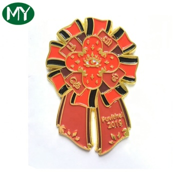 Custom charity enamel pin, soft enamel with expory lapel pin,customized pins for suits