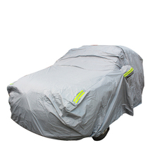 Outdoor automatic car cover