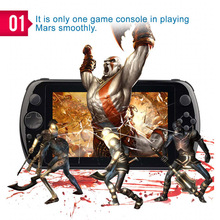 New GPD Q9 7 inch Quad Core K3288 Gamepad Android 4.4 Handheld Game Console PSP3000/PSV Players