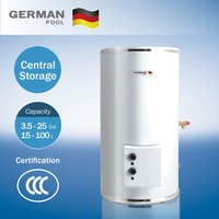 German Pool Supply Domestic Good Quality With Ce Approve Stainless Steel Wall Mounted Hot Water Heater