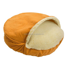 Round Snuggery Burrow Pet Bed Small Animals Bed