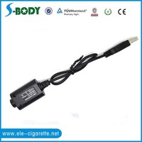 Hot Selling s-body e-cig 420mah usb charger ego usb passthrough for ego battery