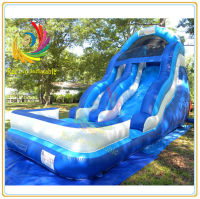 Cheap Inflatable Water Slide with Pool
