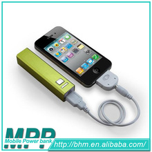 Professional factory supply portable power bank, smart power bank supply 2600