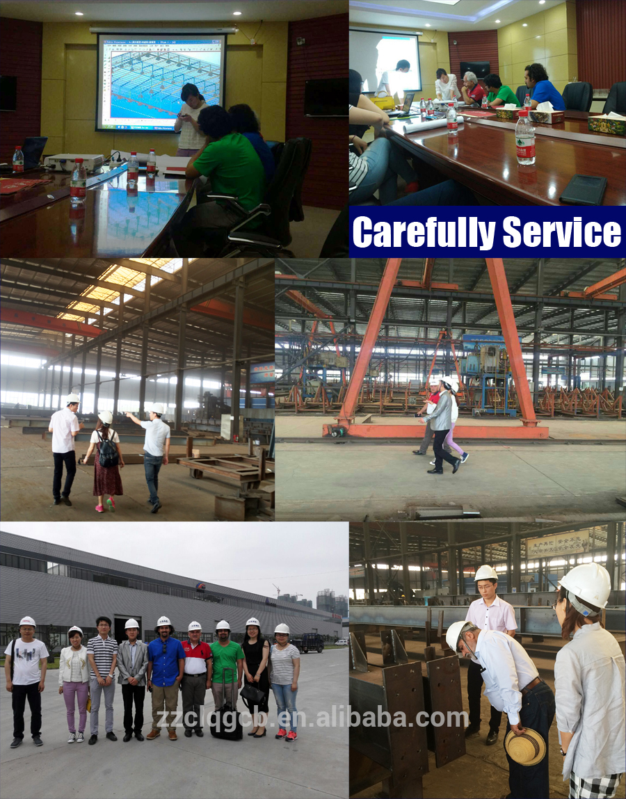 High quality Prefabricated steel structure building workshop warehouse