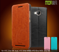 MOFi PU Leather Flip Case Cover for HTC One ME dual, HTC One M9et, Mobile Phone Case for One ME9