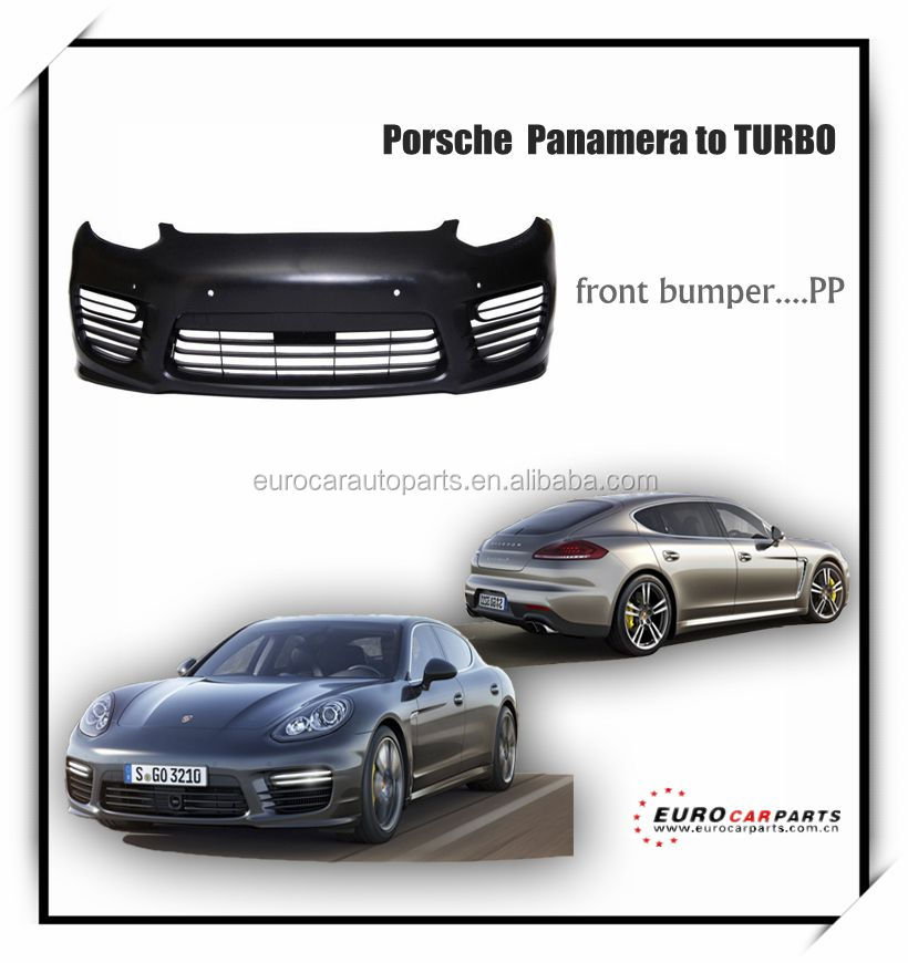 High Quality pp front bumper for panamera upgrade to turbo(2015'up)