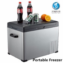 mini refrigerator freezers small portable deep 12v car fridge freezer with compressor av110v 240v 30litres camping fridge