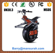 Most strong 24inch 1wheel electric motorcycle 1500W electric scooter with seat