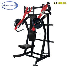Commercial Plate Loaded Power Equipment Incline Chest Press Exercise Equipment