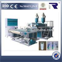 high speed plastic extrusion flat film stretching line