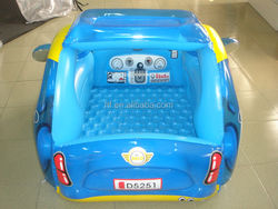 Cool blue inflatable baby car seat, inflatable baby care car seat