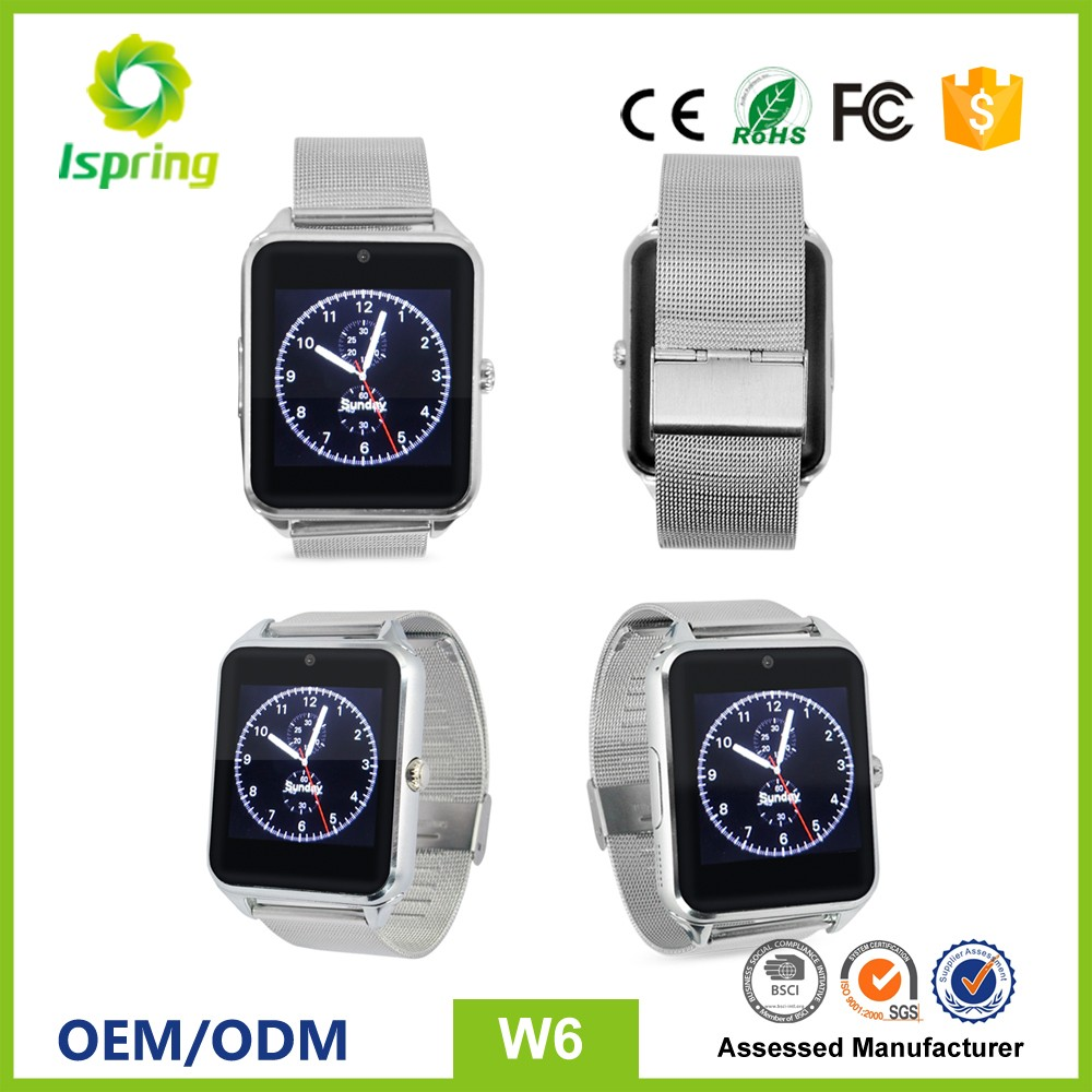 Metal smart watch u8 gv08 for samsung and for iphone watch,heart rate monitor watch,gps kids watch phone
