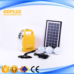 Mini Emergency Protable Mobile Phone Charge Home Solar Light System kits