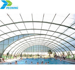 High quality colored polycarbonate plastic sheet for roofing covering