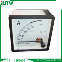 China Manufacture Supply 72*72 96*96 AC DC Current Digital Panel Meter/Ammeter /Ampere meter/Analog meter
