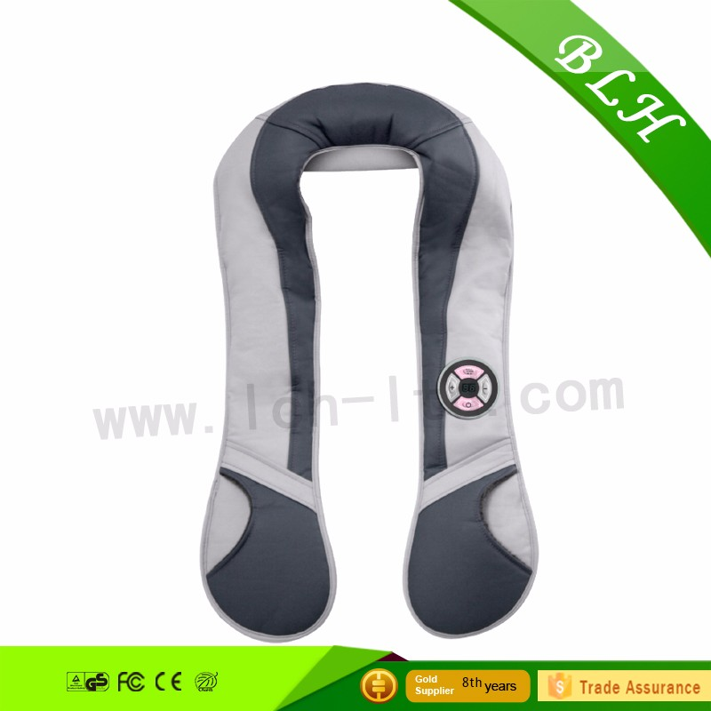 Free Logo vibrating shoulder massager custom logo Fashional design home using neck and shoulder massager