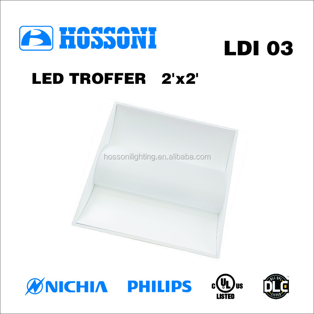 UL DLC approved 49W 600x600mm led ceiling light 5 years warranty LDI03 2X2