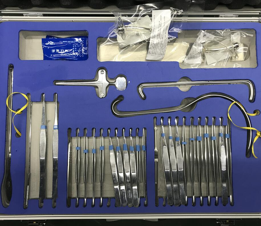 Operating Minor General Surgical Instrument Kits