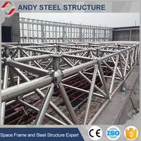 Cheap Stainless Steel Metal Space Frame Roofing
