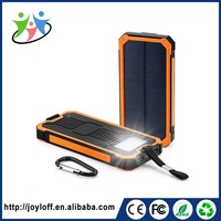 small solar chager 15000mAh portable polymer power bank charger