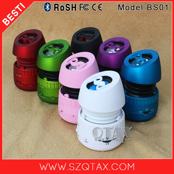 fashion design mini portable wireless speaker set manual
