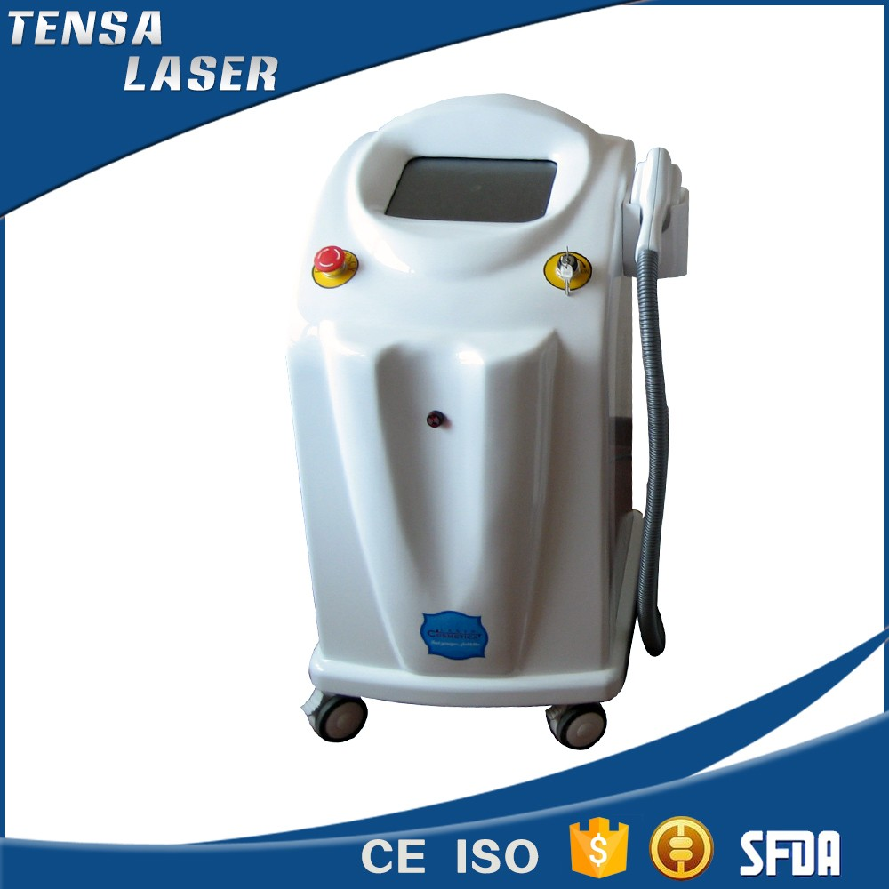 medical germany bars 600w 808nm white color diode laser in motion hair removal machine for home use