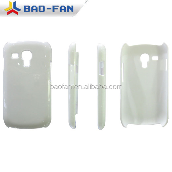 3D blank sublimation cell phone case for samsung S3 mini I8190
