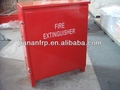 Fire extinguisher cabinet marine grade GRP cabinet for fire fighting, single door