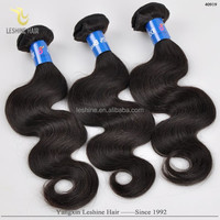 Good Feedback No Shedding No Tangle Unprocessed Full Cuticle Virgin Human Weave raw virgin brazilian big wave