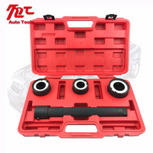 4pc Hand Tool Set Of Steering Rack Knuckle Tool Tie Rod End Track Joint Removal Universal Removal & Installation Service kit