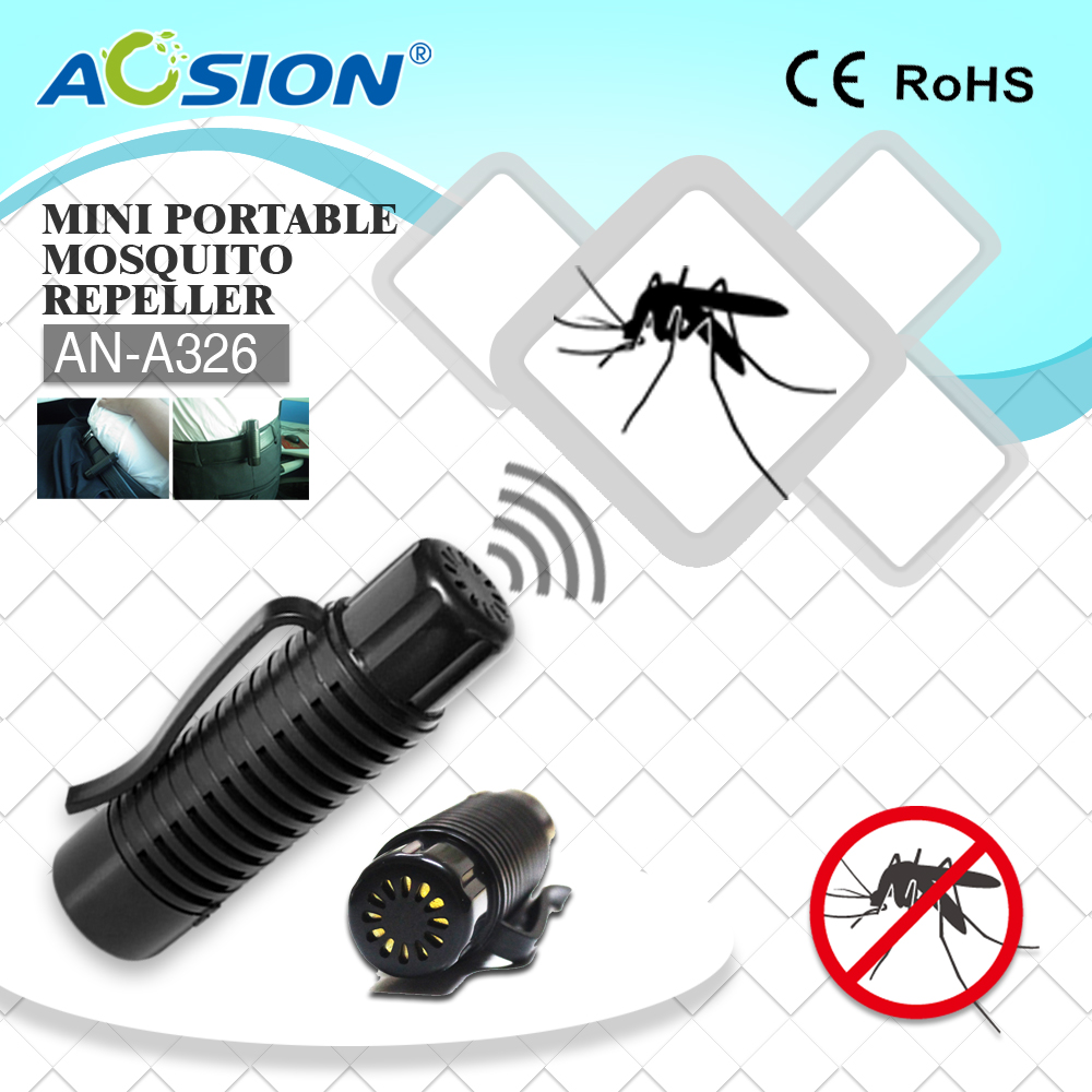 Aosion Patent Designed Top Rated Portable outdoor ultrasonic mosquito repellent device