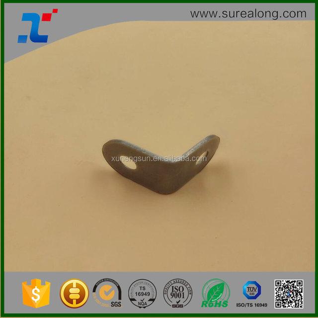 20*20mm Furniture L decorative wall support corner brace angle metal shelf brackets