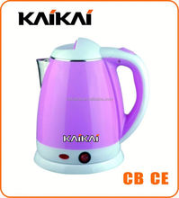China supply 1.8L porcelain enamel camping water kettle