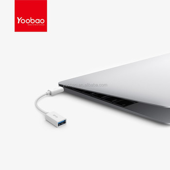 YOOBAO USB3.1 Gen1 Cable USB-C to Female USB-A Adapter USB Type-C cable
