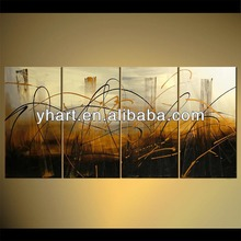 Handmade Modern photo decoration group abstract art picture