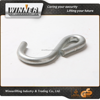 factory price plastic coated s hook