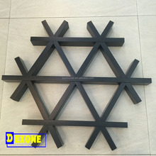 Metal Aluminum Open cell ceiling tile grid ceiling