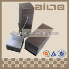 artificial imitation leather paper wine box