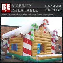 Infatable Santa Grotto Bounce House 2014