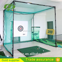 2016 new style GP Wholesale Cheap golf practice net and cage/golf chipping nets/golf practice tent