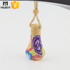 vase shaped hanging car perfume used empty car air freshener bottle