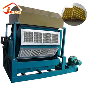 Automatic Pulp Egg Tray Making Machine CE Certified Paper Egg Tray Molding Machine Cheap Automatic Egg Tray Forming Machine