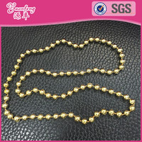 online shop china plastic fashion jewelry fake gold metallic color necklace