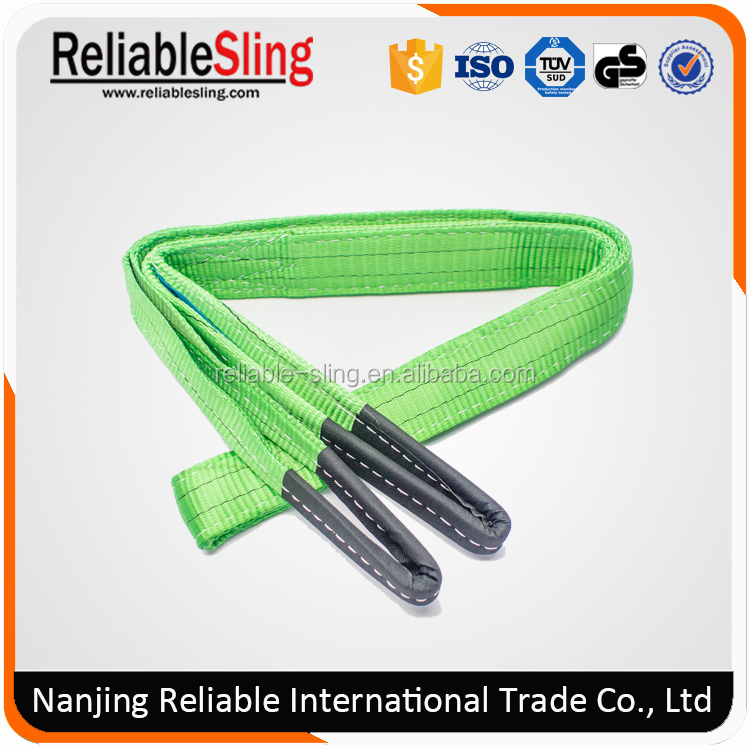 100% polyester lift car sling for heavy duty eye eye webbing