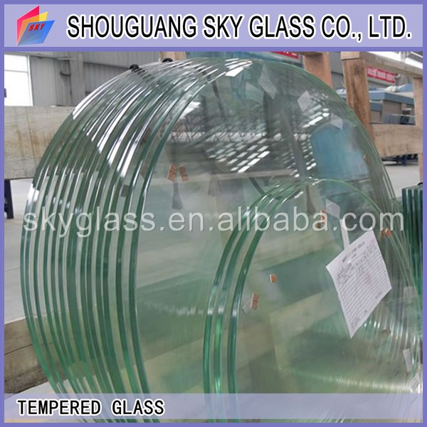 2-19mm Clear/Ultra Clear/Bronze/Green/Blue/Gray Float Glass tempered for windows