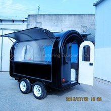 mobile fast food caravan mobile kitchen trailer
