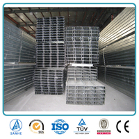 galvanized steel c purlins