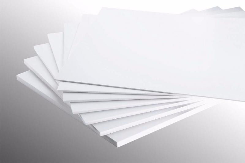 Wholesale Cheap high grade excellent quality 4x8 white thin pvc foam sheet for sign