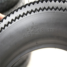 Thailand brand classical retro vintage sawtooth motorcycles tyre 4.50-18